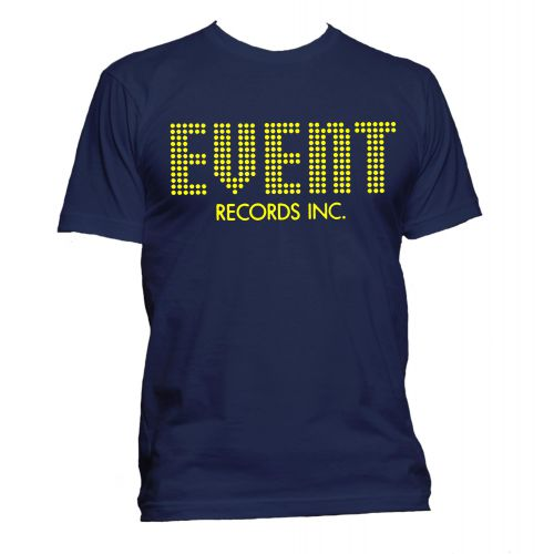 Event Records T Shirt Navy [32]