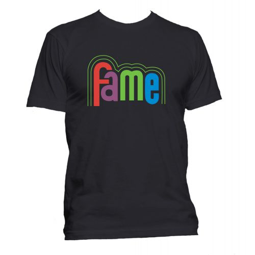FAME Logo T Shirt Black [36]