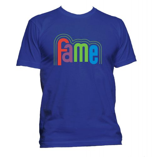 FAME Logo T Shirt Royal Blue [51]