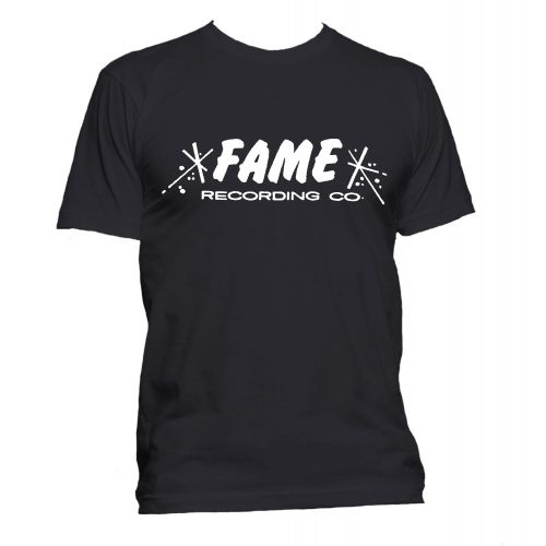 FAME Recording Co T Shirt Black [36]
