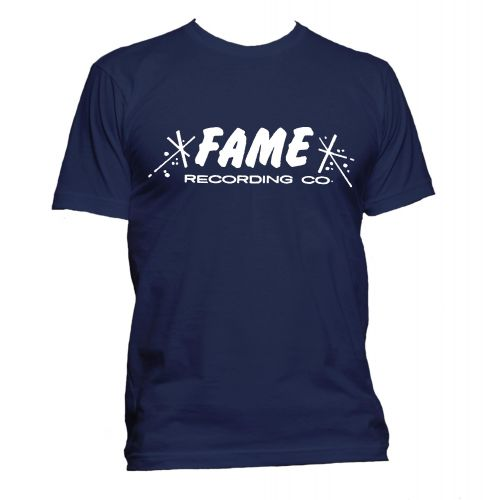 FAME Recording Co T Shirt Navy [32]
