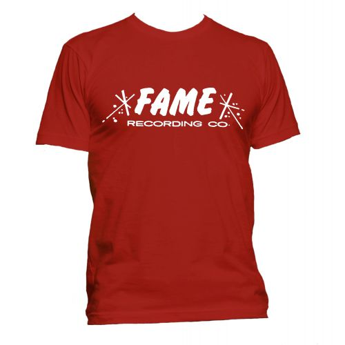 FAME Recording Co T Shirt Red [40]