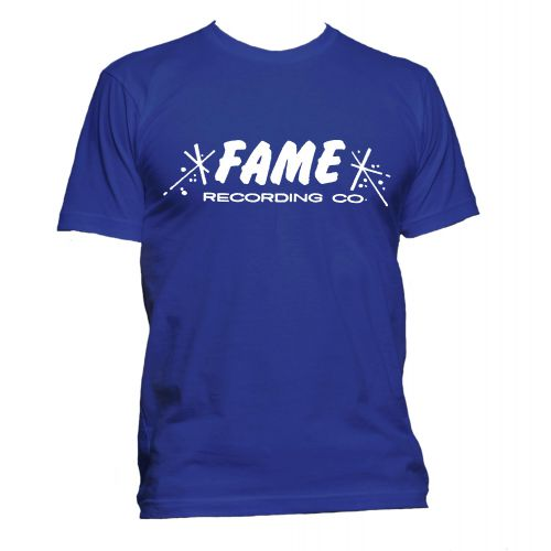 FAME Recording Co T Shirt Royal Blue [51]