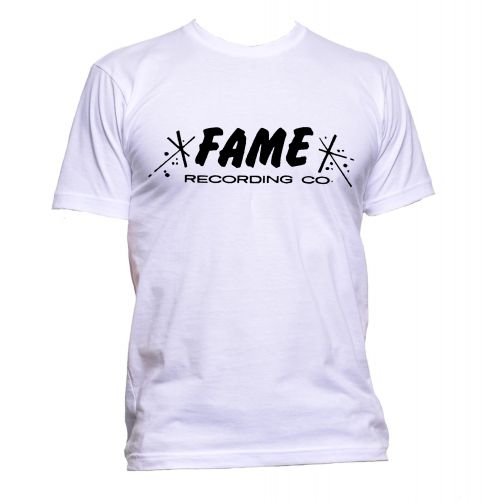 FAME Recording Co T Shirt White [30]