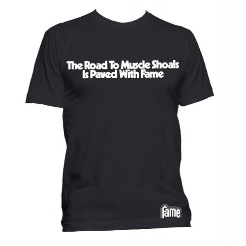 The Road to Muscle Shoals T Shirt Black [36]