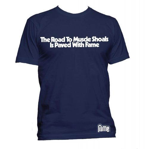 The Road to Muscle Shoals T Shirt Navy [32]