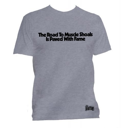 The Road to Muscle Shoals T Shirt Sport Grey [95]