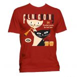 Feline Groovy T Shirt Red [40]
