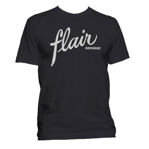 Flair Records T Shirt Black [36]