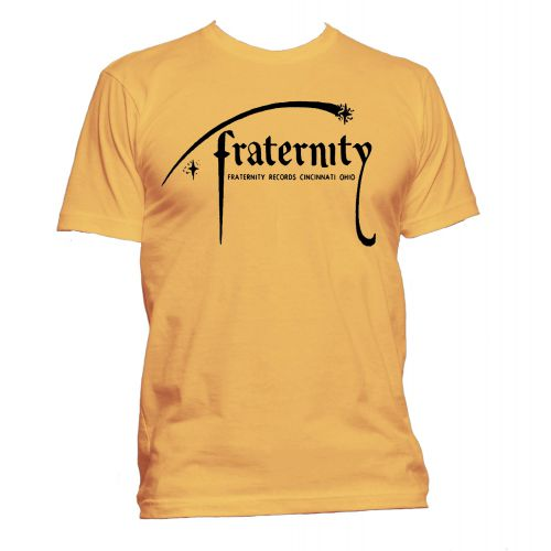 Fraternity Records T Shirt Gold [24]