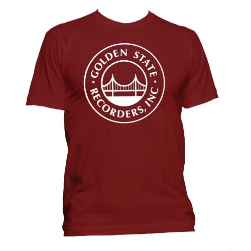 Golden State Recorders T Shirt Cardinal Red [11]
