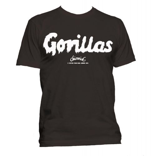 Hammersmith Gorillas T Shirt Dark Chocolate [105]