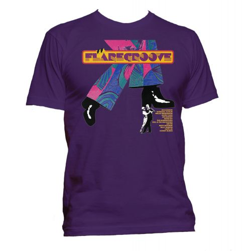Flare Groove T Shirt Purple [81]