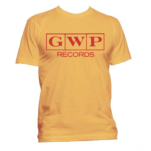 GWP Records T Shirt Gold [24]