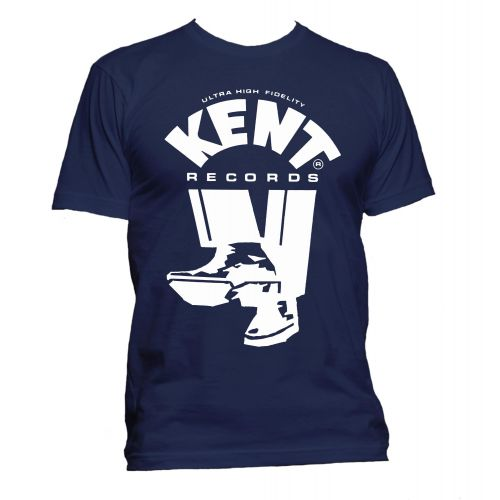 Kent Records 'Shoes' T Shirt Navy [32]