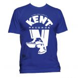 Kent Records 'Shoes' T Shirt Royal Blue [51]