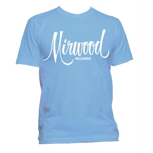 Mirwood Logo T Shirt Carolina Blue [109]