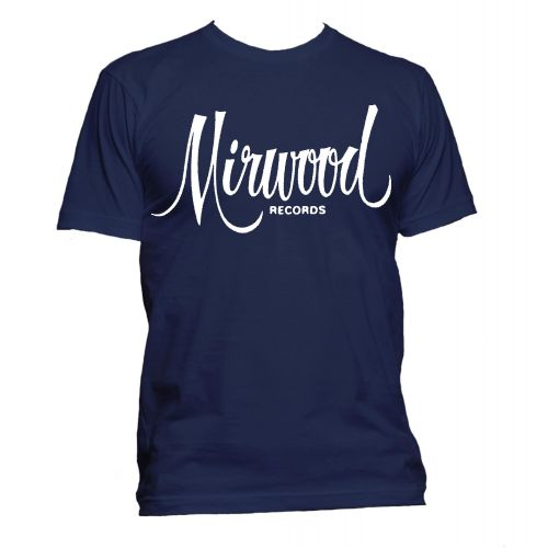 Mirwood Logo T Shirt Navy [32]