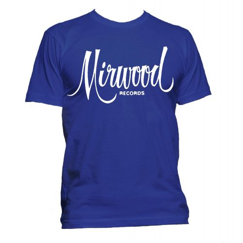Mirwood Logo T Shirt Royal [51]
