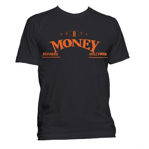 Money Records, Hollywood T Shirt Black [36]