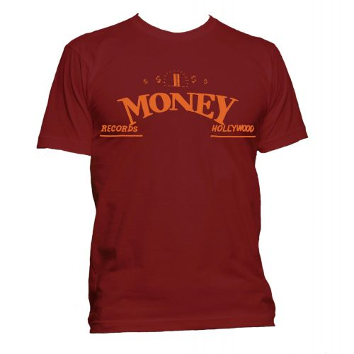 Money Records, Hollywood T Shirt Cardinal Red [11]