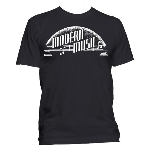 Modern Music T Shirt Black [36]