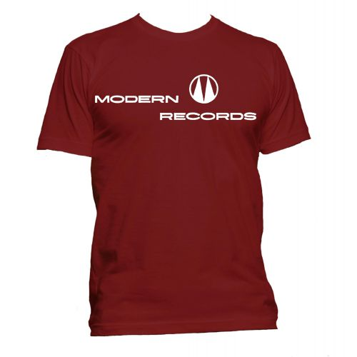 Modern Records T Shirt Cardinal Red [11]