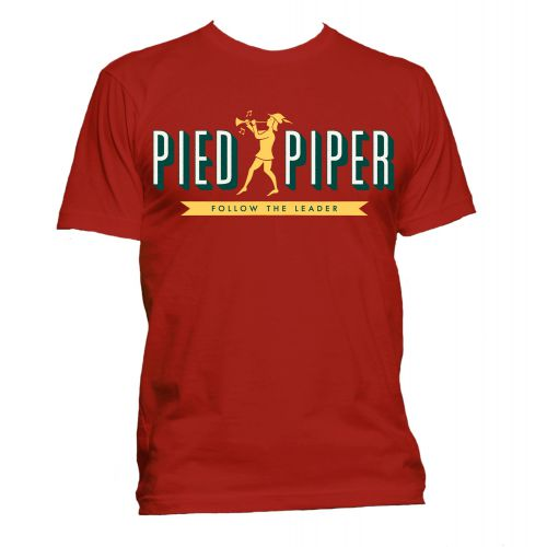 Pied Piper T Shirt Red [40]