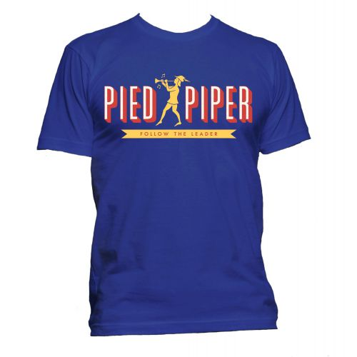 Pied Piper T Shirt Royal Blue [51]