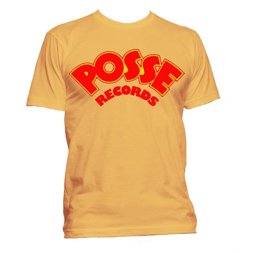 Posse Records T Shirt Gold [24]