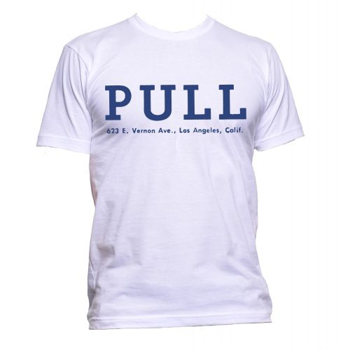 Pull Records T Shirt White [30]