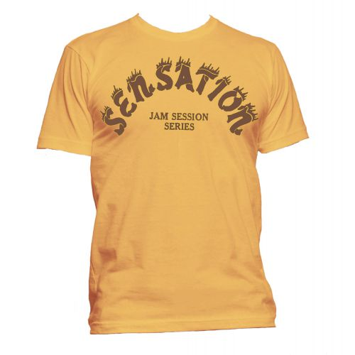Sensation Records T Shirt Gold [24]