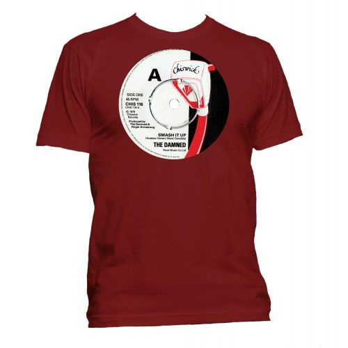 Smash It Up Chiswick Records T Shirt Cardinal Red [11]