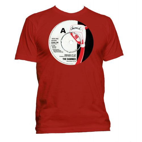 Smash It Up Chiswick Records T Shirt Red [40]