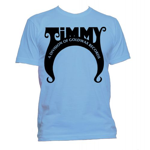Timmy Records T Shirt Carolina Blue [109]