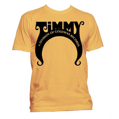 Timmy Records T Shirt Gold [24]