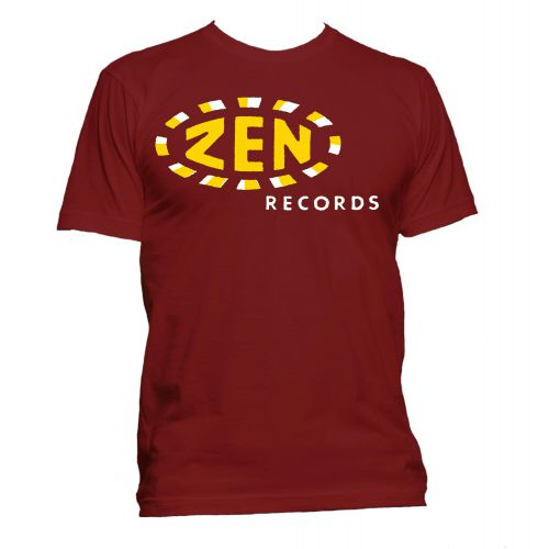 Zen Records T Shirt Cardinal Red [11]