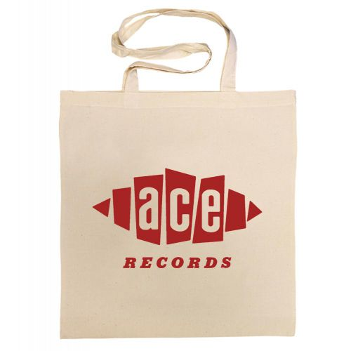 Ace Records Cotton Bag Red [40]