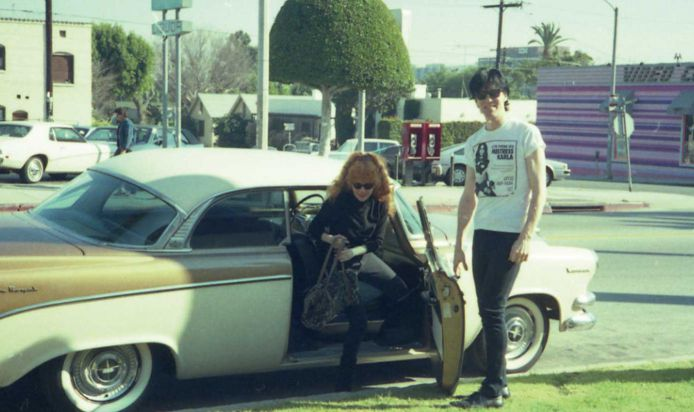 Lux Interior and Poison Ivy from the Cramps