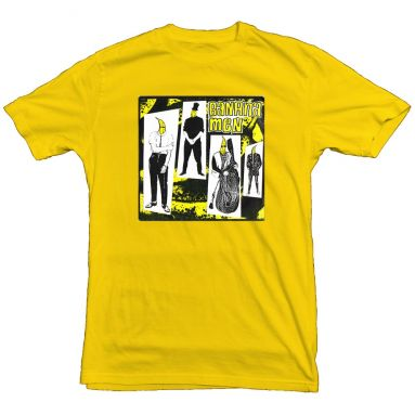 The Crusher T Shirt Daisy Yellow [98]