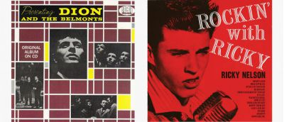 Dion and Ricky Nelson LPs