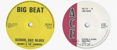 Johnny & The Jammers and Link Davis Singles