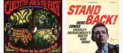 Country Joe & The Fish and Charlie Musselwhite Sleeves