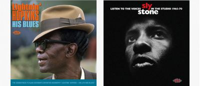 Lightnin Hopkins and Sly Stone CDs