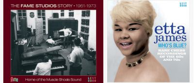 Fame Studios Story and Etta James Sleeves