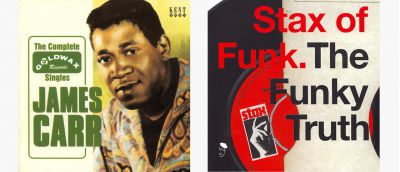 James Carr and Stax CD Sleeves