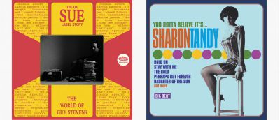 Guy Stevens Story and Sharon Tandy CD Sleeves