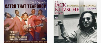 5 Royals and Jack Nitzsche Story CD Sleeves