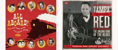 All Aboard and Tampa Red CD Sleeves