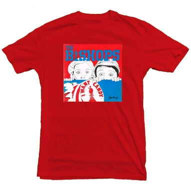 I Want Candy T Shirt Cardinal Red [11]